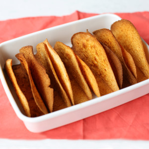 Recipe: spiced taco shells