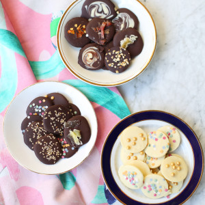 Recipe: chocolate medallions
