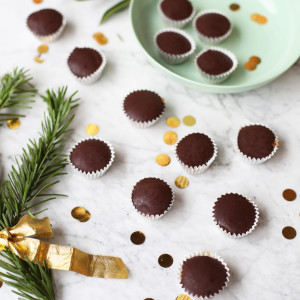 Recipe: gingerbread and chocolate bites