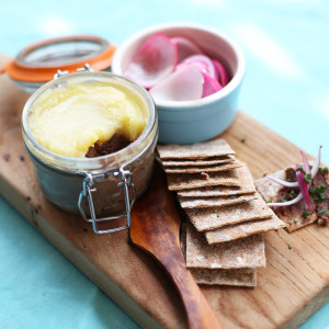 Recipe: barbecued chicken liver pâté