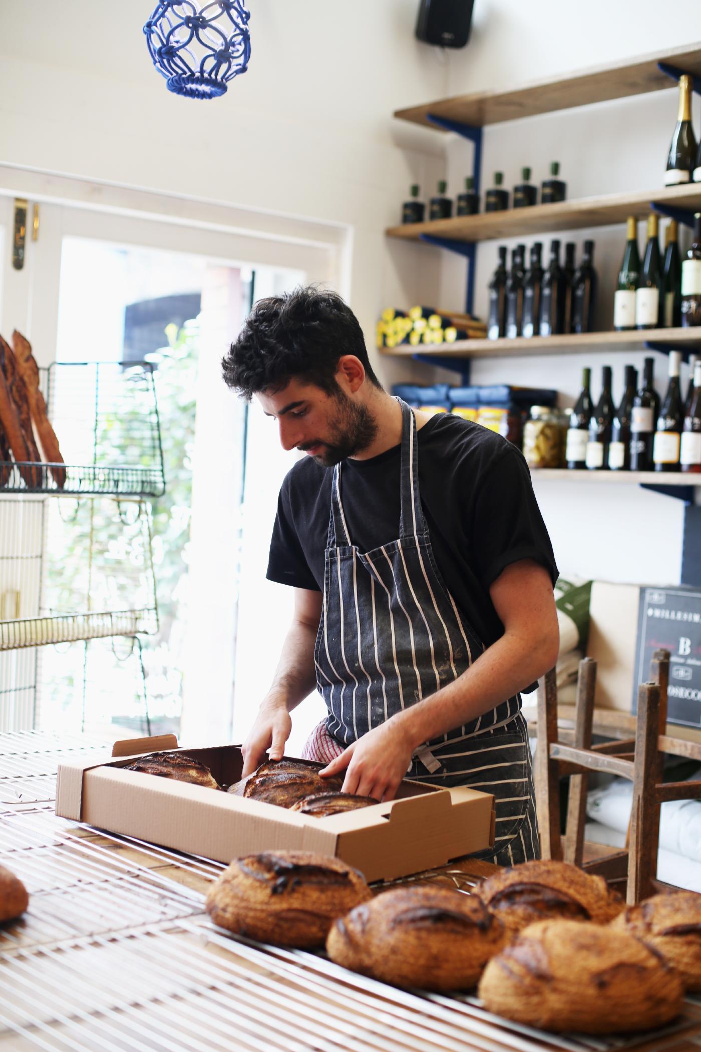 Lonzo's bread maker, Ben