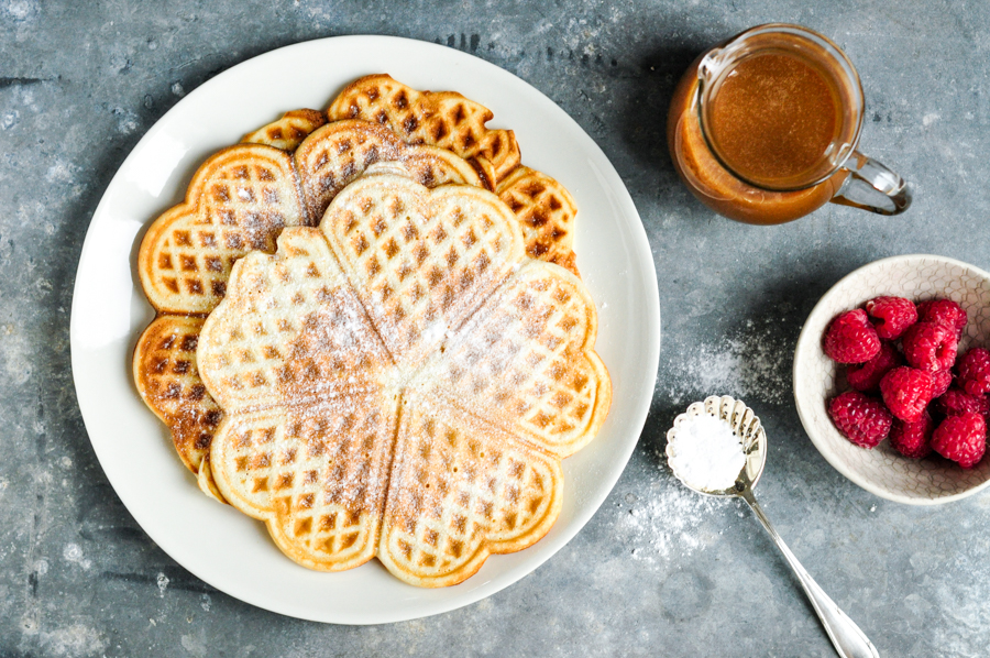 Waffles-with-Salted-Caramel-Sauce-8
