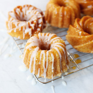 Recipe: mini lemon bundt cakes