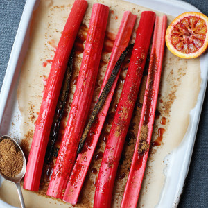 Recipe: citrus baked rhubarb