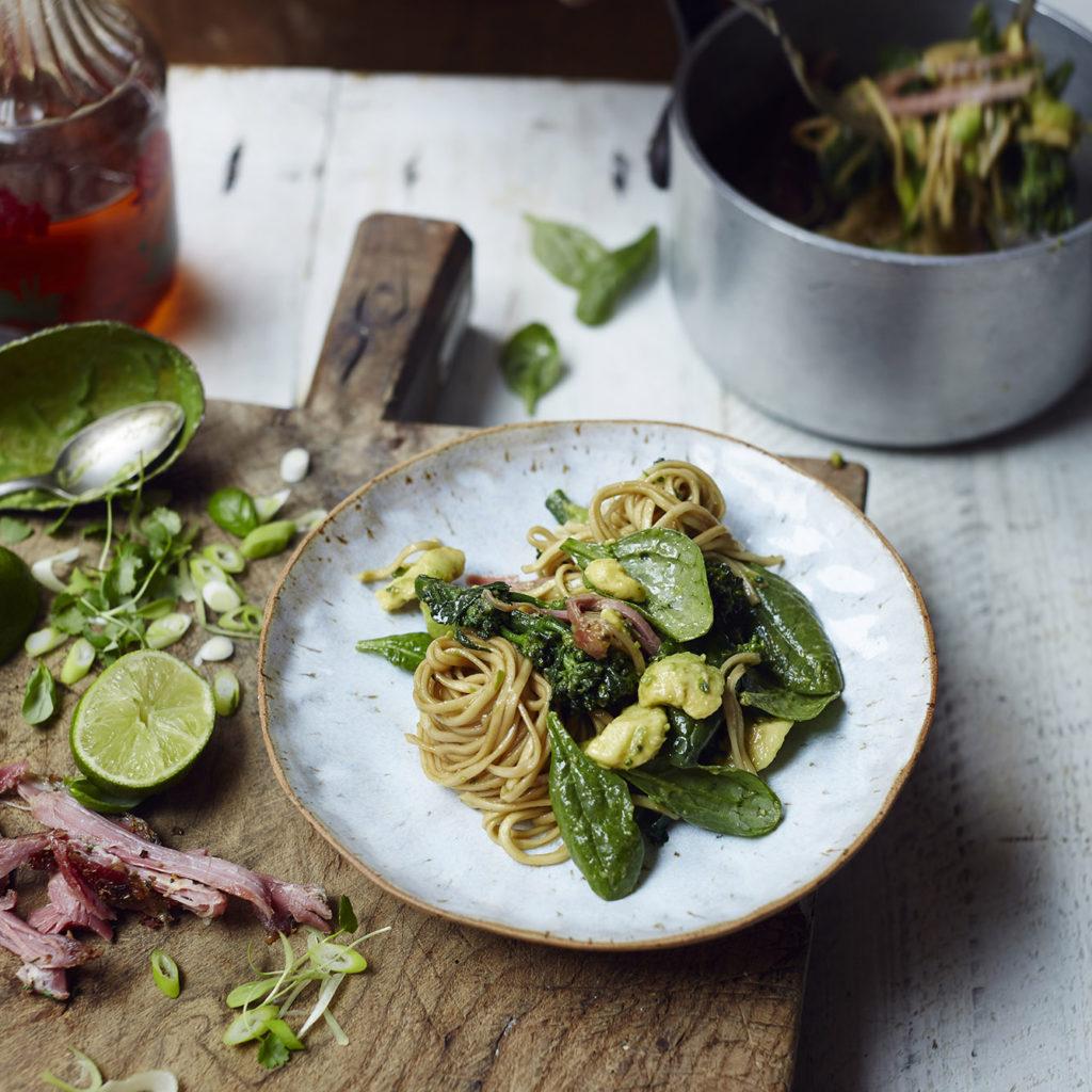 Recipe: quick noodle bowl