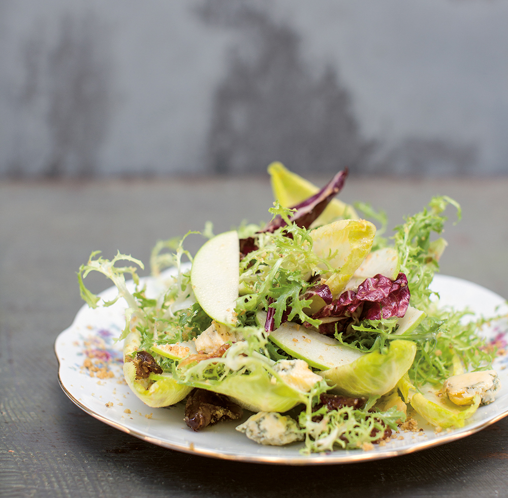 Recipe: a date with chicory and blue Stilton