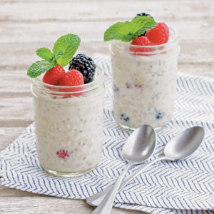 Recipe: Overnight Kefir Chia Coconut Oats