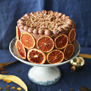 Recipe: Chocolate Orange Christmas Cake