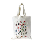 avian alphabet tote bag