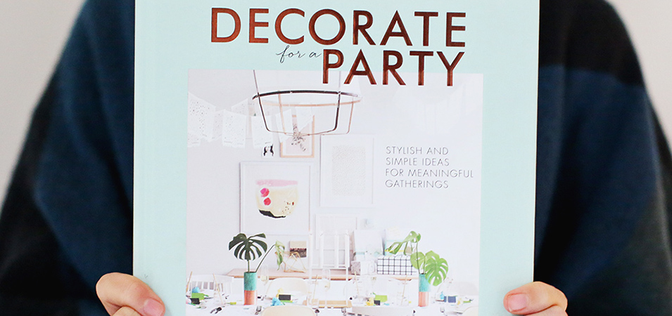 Give-a-weight: win a copy of Decorate for a Party