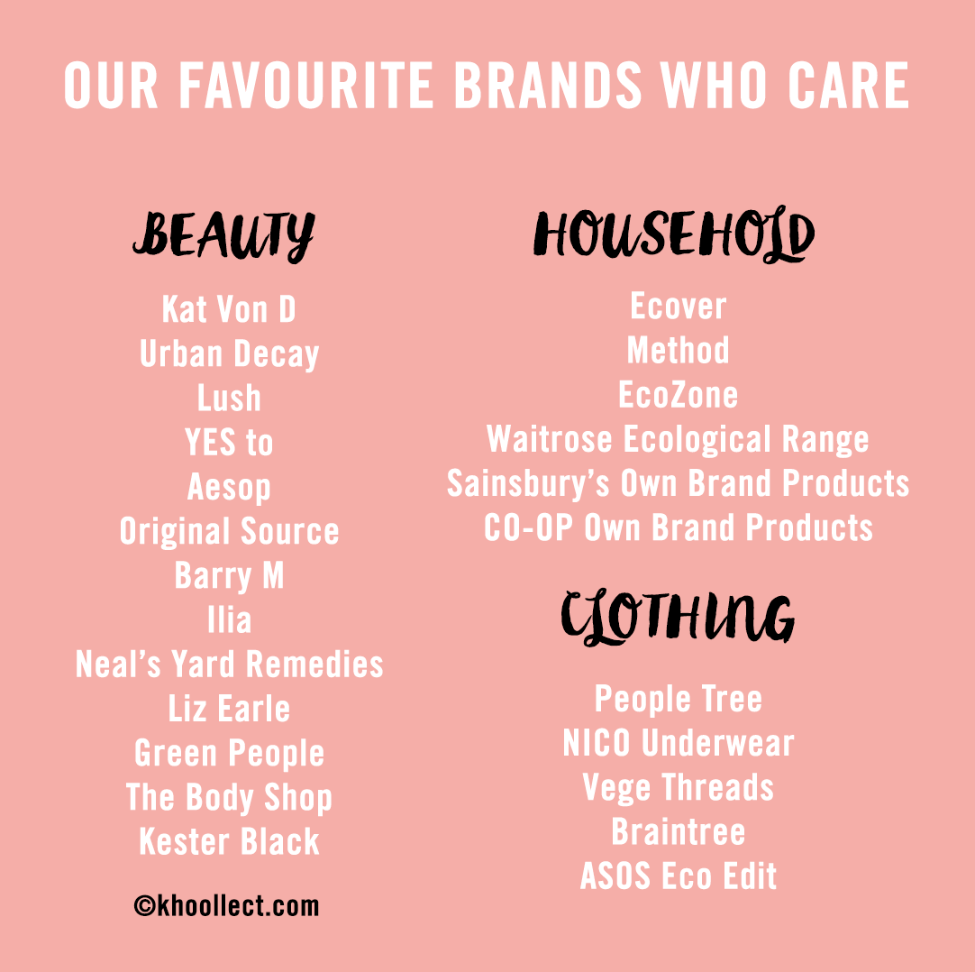 Brands who care