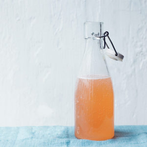 Recipe: sour rhubarb fizz