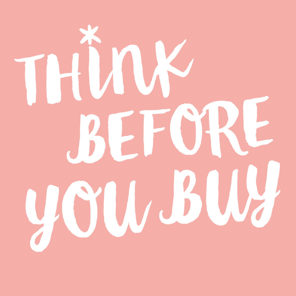 Why you should think before you buy - Khoollect
