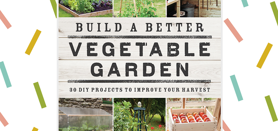 Give-a-weight: win a copy of Build a Better Vegetable Garden by Joyce Russell