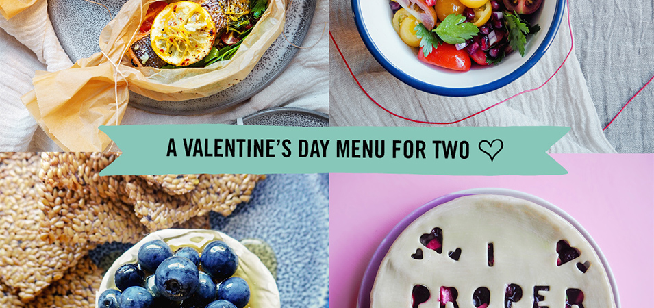 Love is in the kitchen: a Valentine's Day menu for two