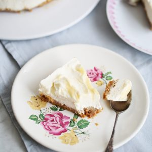 Recipe: no-bake lemon swirl cheesecake