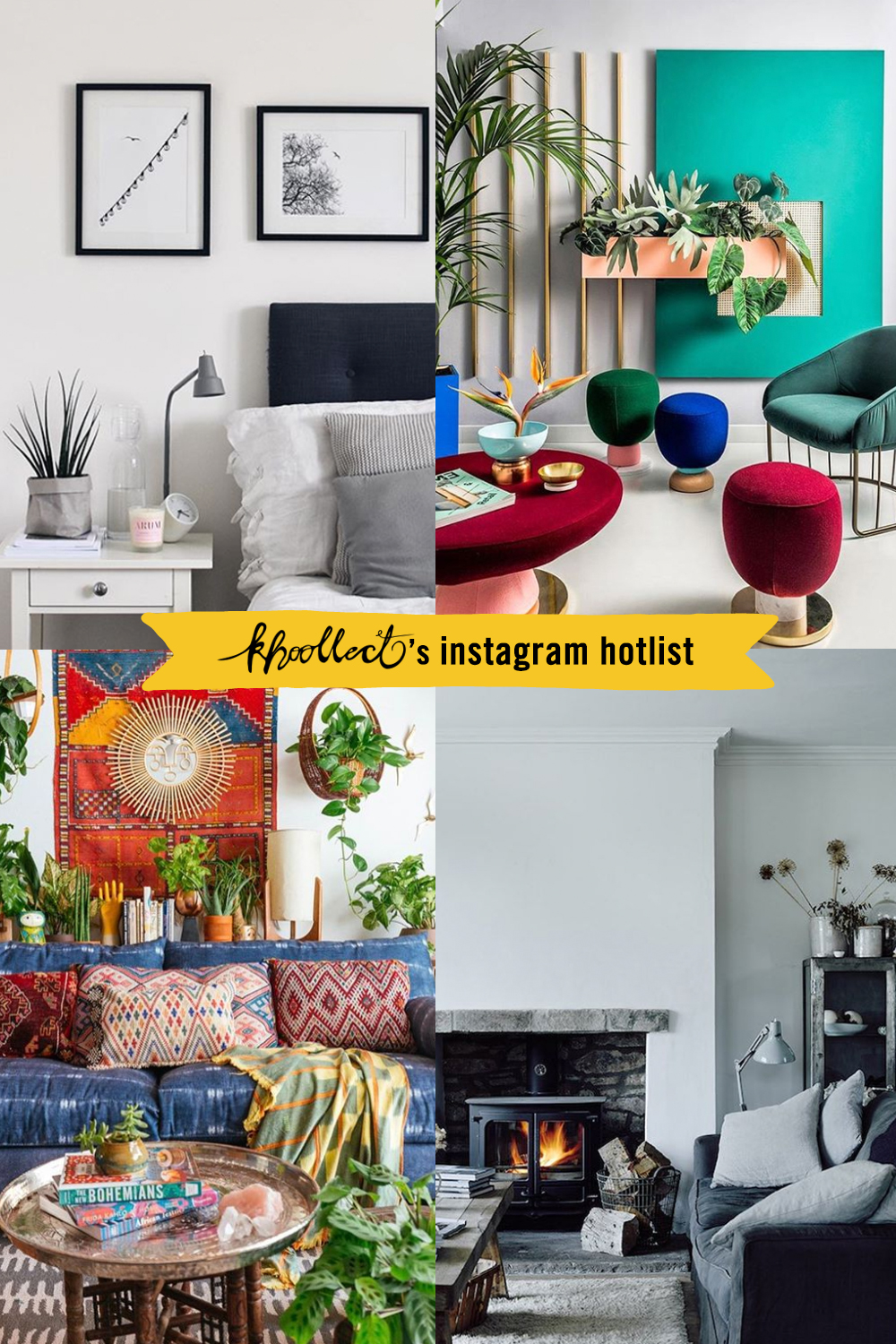 The best interior design instagram accounts for instant for Best home decor accounts on instagram