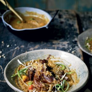 Recipe: Zoe Adjonyoh's Lamb Cutlets with Peanut Sauce