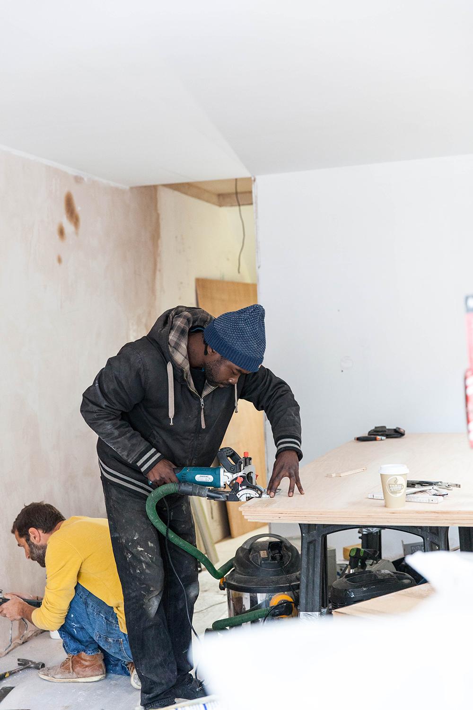 khoollect hq renovation week 17