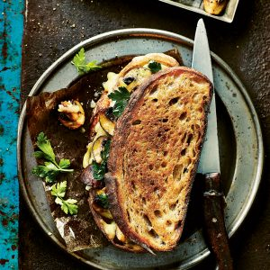 Recipe: Roasted Mushroom Grilled Cheese Sandwich