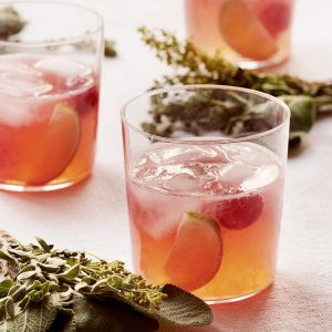 Recipe: Raspberry and lime gin and tonic