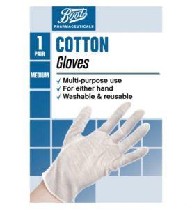 Cotton gloves Khoollect Rachel Khoo