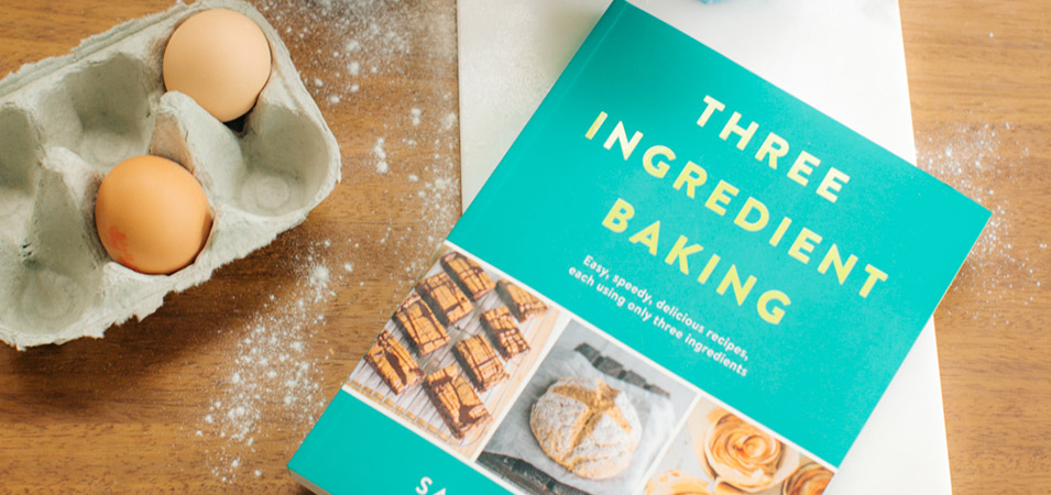 Win a copy of Three Ingredient Baking by Sarah Rainey