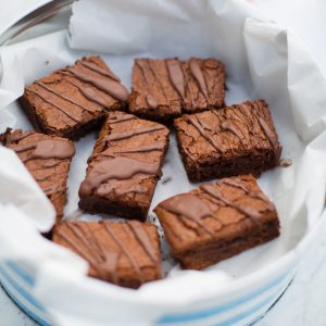 Recipe: Sarah Rainey's Chocolate Praline Brownies