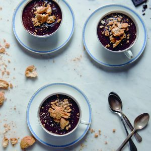 Recipe: Skye McAlpine's Chocolate and Amaretti Custard