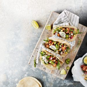 Recipe: Áine Carlin's Crispy Cinnamon Potato Tacos