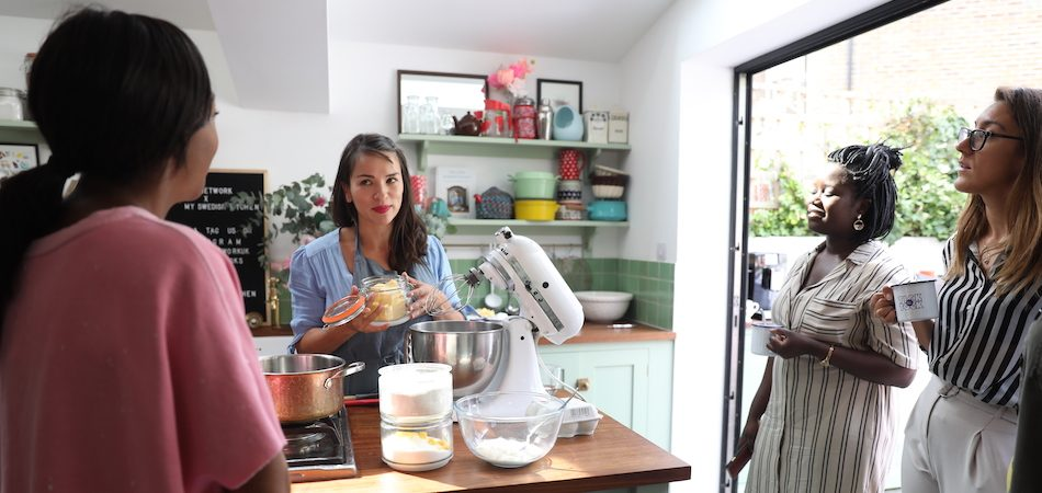 Behind the scenes: Rachel Khoo's My Swedish Kitchen TV workshop