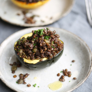 Recipe: provencal stuffed squash