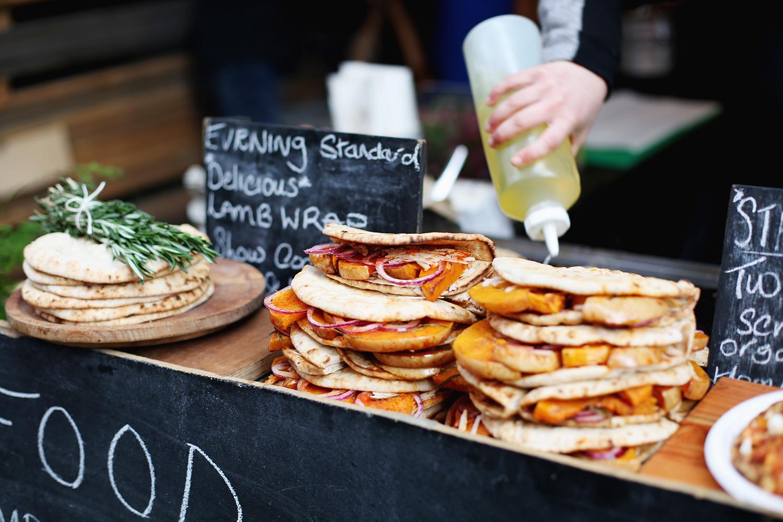 Food on Maltby Street Market
