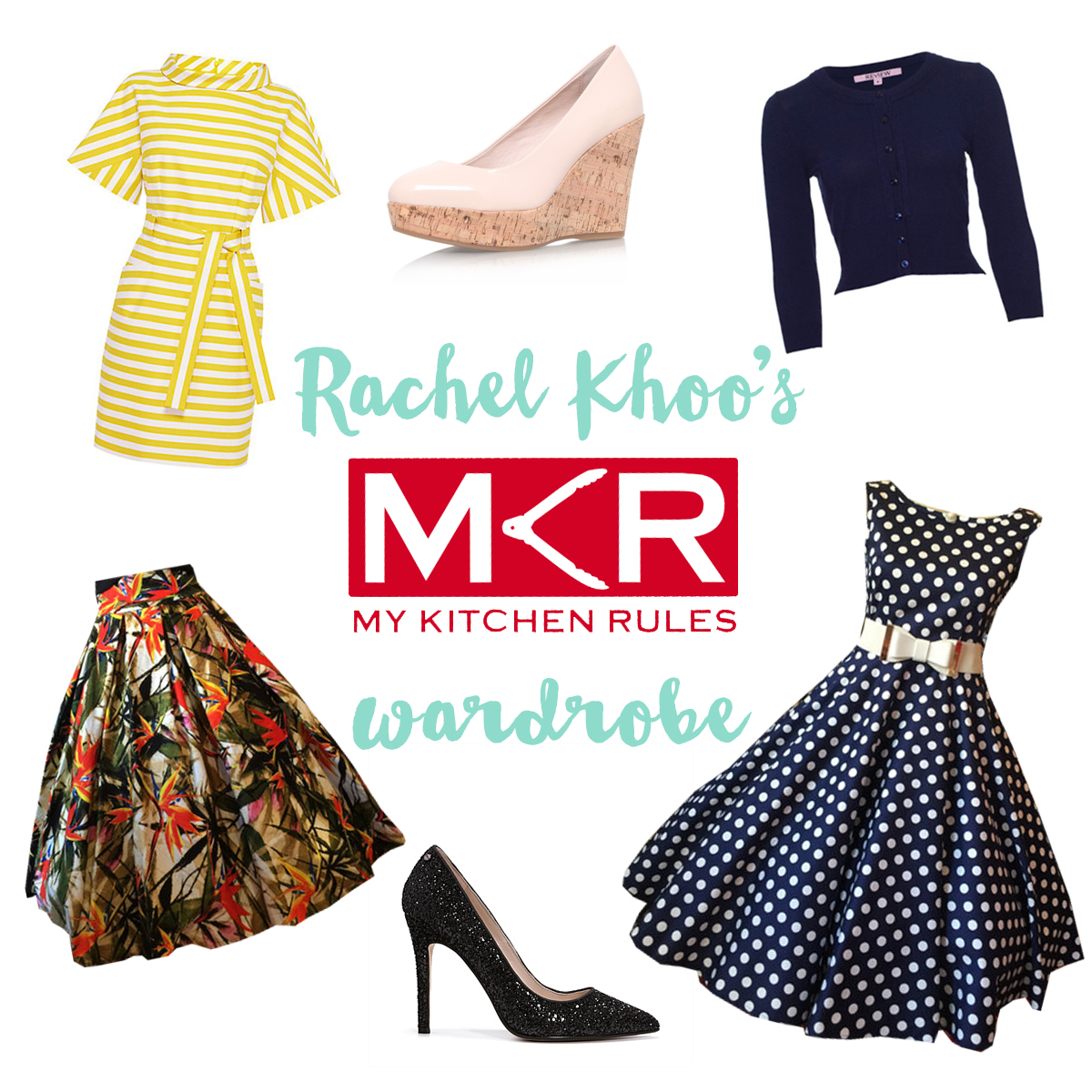 Rachel Khoo's My Kitchen Rules Wardrobe