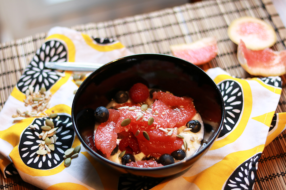 Grapefruit and Yoghurt Bowl