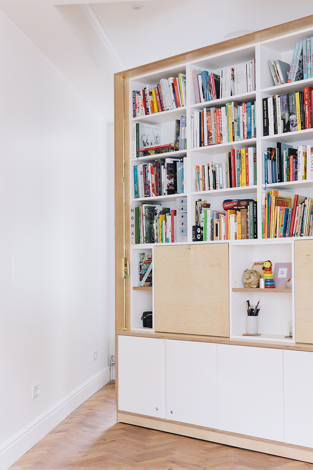 khoollect hq front room moveable bookcase