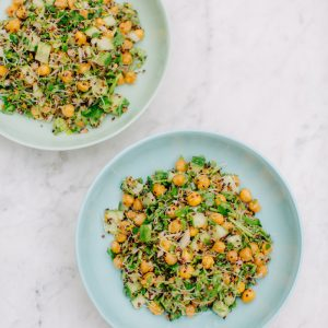 Recipe: Chickpea Tabbouleh from The Doctor's Kitchen