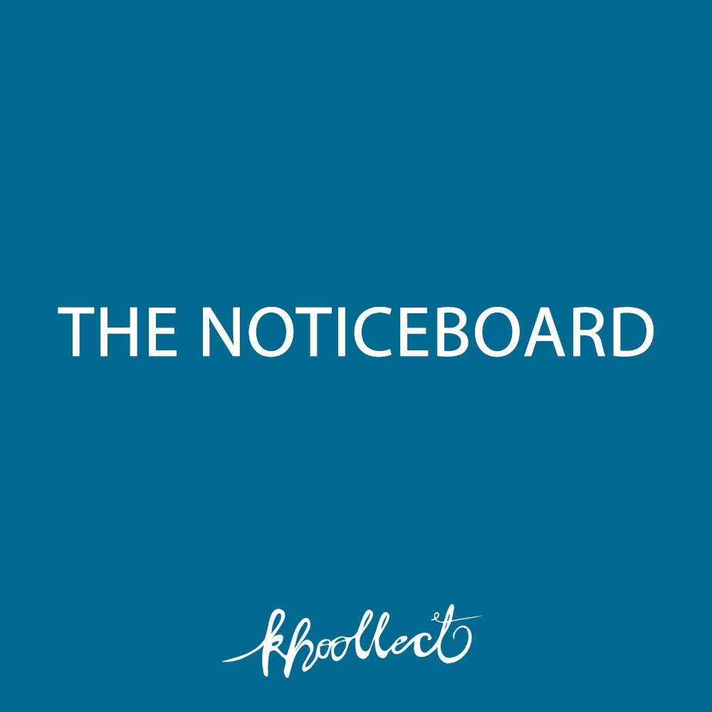 Khoollect noticeboard