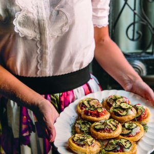 Recipe: Courgette Pizzette by Skye McAlpine